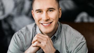 Brett, Portrait Headshot Session by Danielle Doepke Photography, Fort Wayne, Indiana