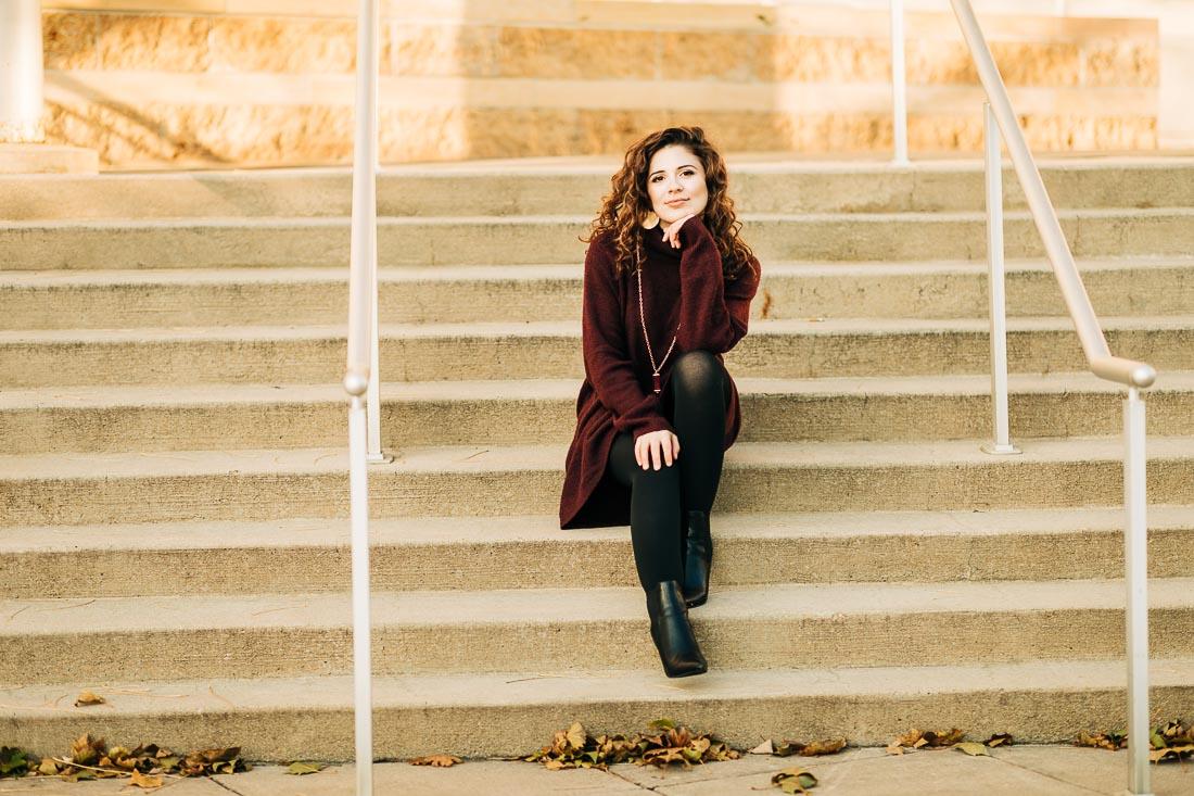 Anastasia, Portrait Headshot Session by Danielle Doepke Photography, Fort Wayne, Indiana