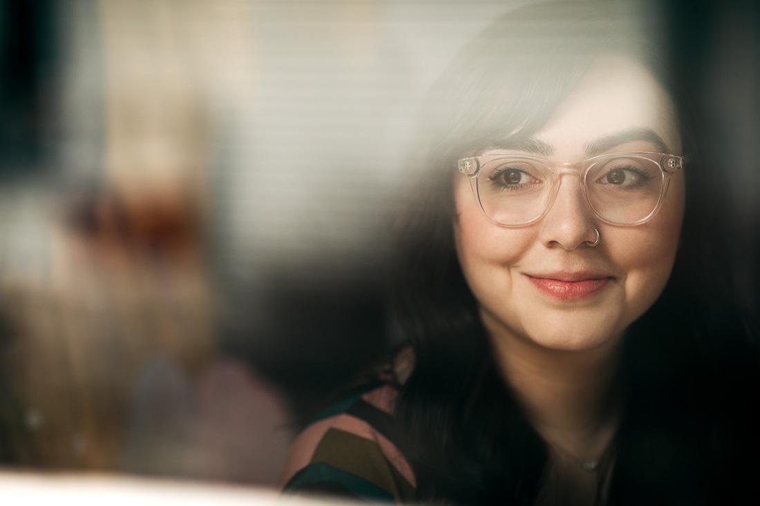 Jasmine, Natural Light Portrait Headshot Session by Danielle Doepke Photography, Fort Wayne, Indiana