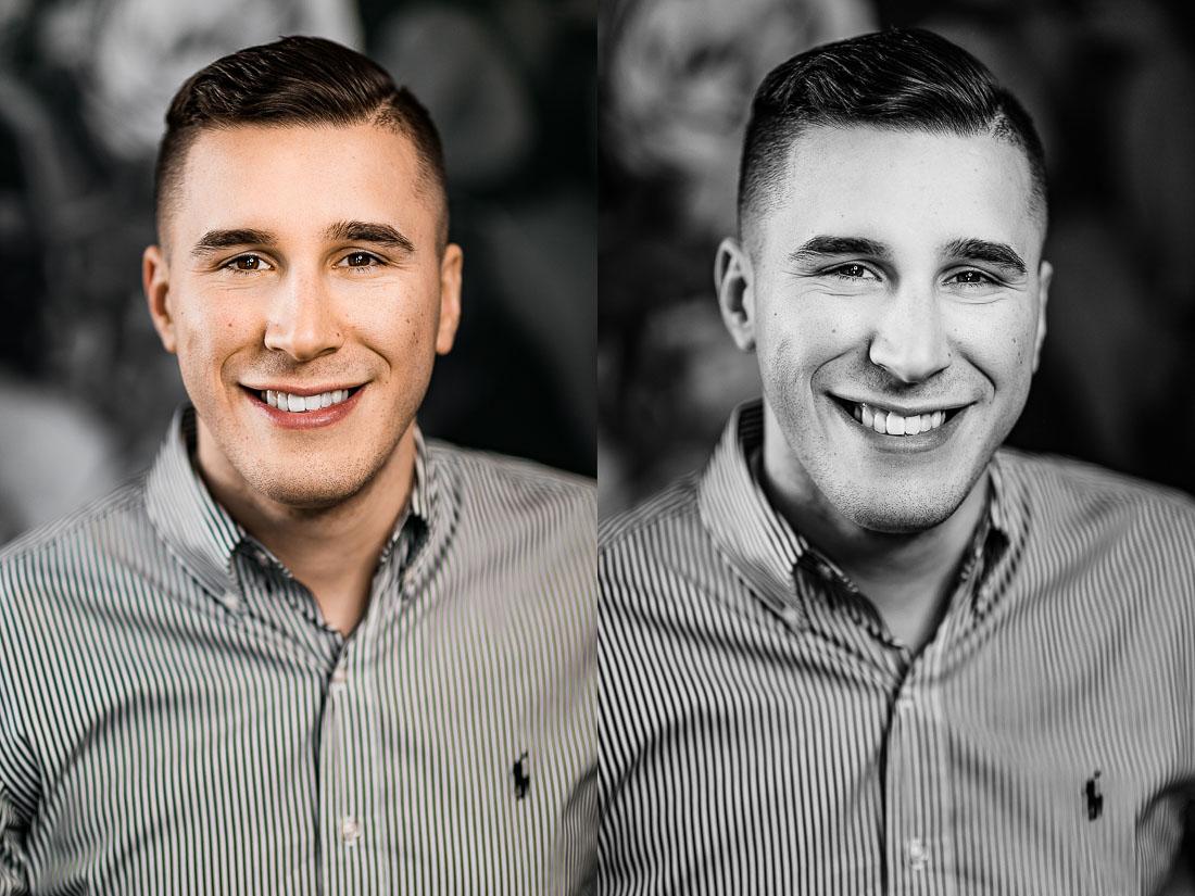 Brett, Portrait Headshot Session by Danielle Doepke Photography, Fort Wayne, Indiana Photographer