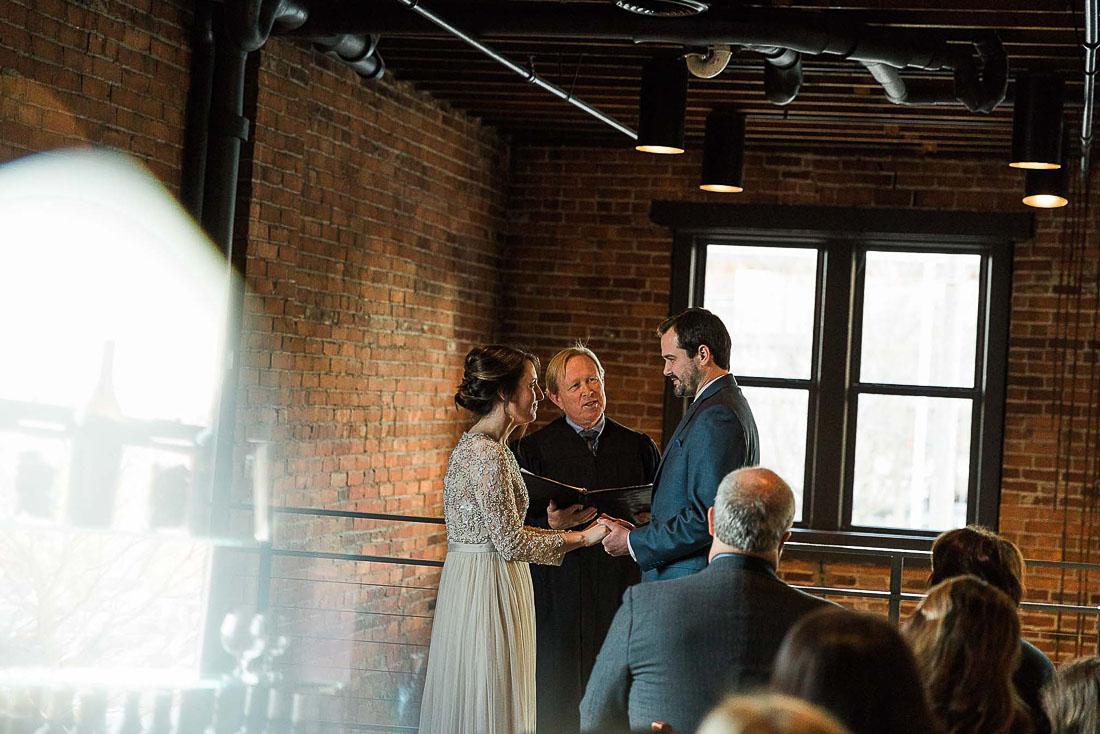 Beth and Kienan, Downtown Fort Wayne Indiana Club Soda Wedding by Danielle Doepke Photography