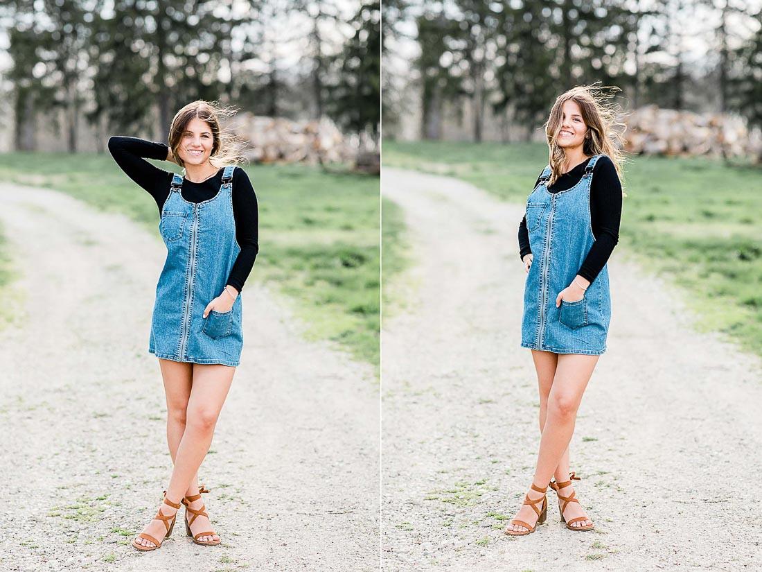 Emily, Headshot Portrait Senior Session by Danielle Doepke Photography, Fort Wayne, Indiana Photographer