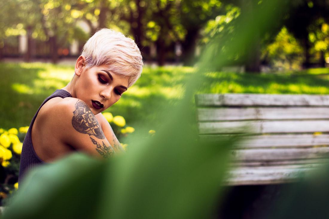 Jeanell, Headshot Portrait Session by Danielle Doepke Photography, Fort Wayne, Indiana Photographer