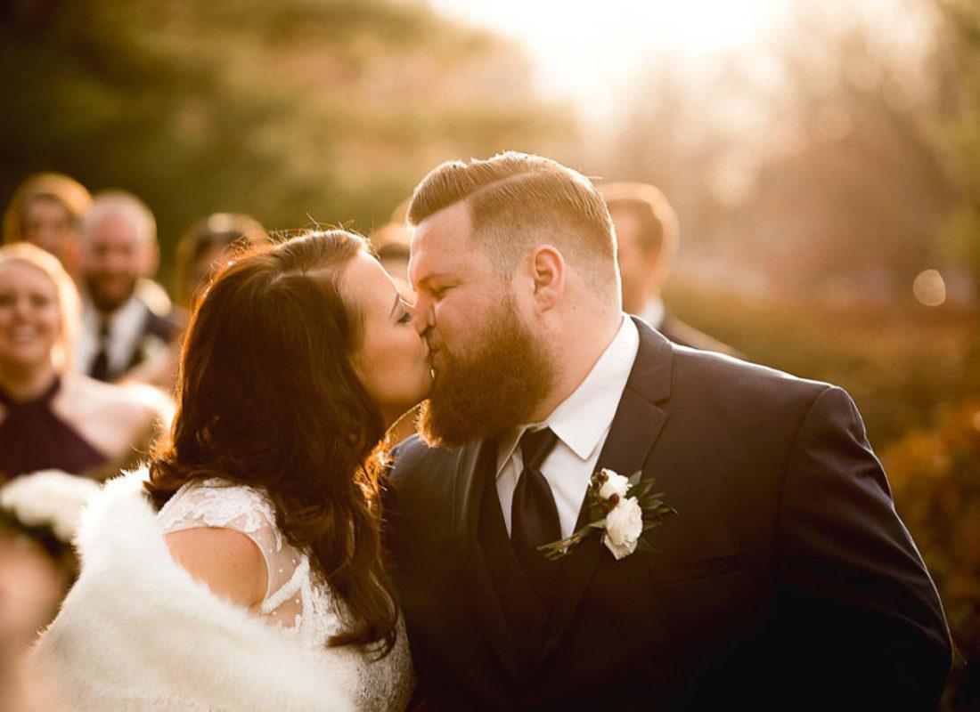 Katie and Kirk, Saint Jude Catholic Church Wedding and Goeglein's Homestead Fort Wayne Wedding, Photography by Danielle Doepke