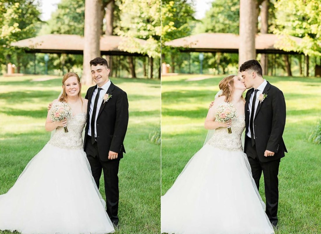 Stephen and Madi, Warsaw Indiana Winona Lake Wedding and Reception by Danielle Doepke, photographer located in Fort Wayne, Indiana