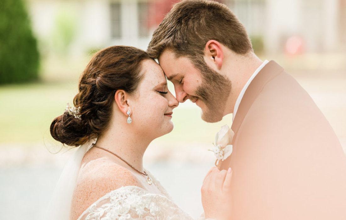 Keller and Hunter, June Outdoor Backyard Fort Wayne, Indiana Wedding by Danielle Doepke, Photographer located in Fort Wayne, Indiana